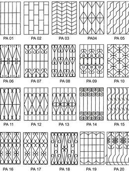Сетки и решетки - Решётки в солнечногорске зеленограде клине химки, 0