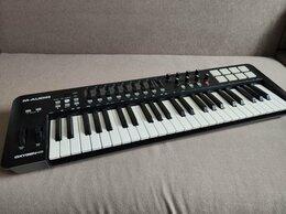 Клавишные инструменты - MIDI-клавиатура M-Audio Oxygen 49 MK IV, 0