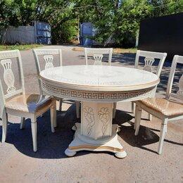 Столы и столики - Стол Версаче круг, 0
