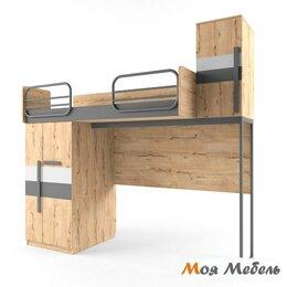 Кровати - Кровать верхняя левая малая без лесенки шкаф слева, 0
