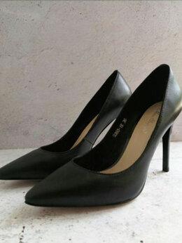 """Туфли - Туфли черные, натуральная кожа """"Miss Sofeya"""", 0"""