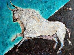 Картины, постеры, гобелены, панно - Небесный бык. Картина холст, акрил, 0