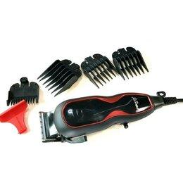 Машинки для стрижки и триммеры - Машинка для стрижки MZ MZ-321, черный, красный, 0