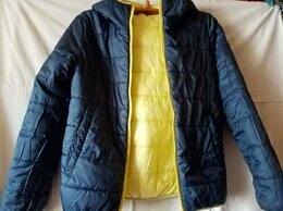 Куртки и пуховики - куртка двухсторонняя Button Blue 152, 0