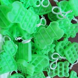 Игрушки-антистресс - POP IT Силиконовая игрушка , брелок(Светящиеся фигурки), 0
