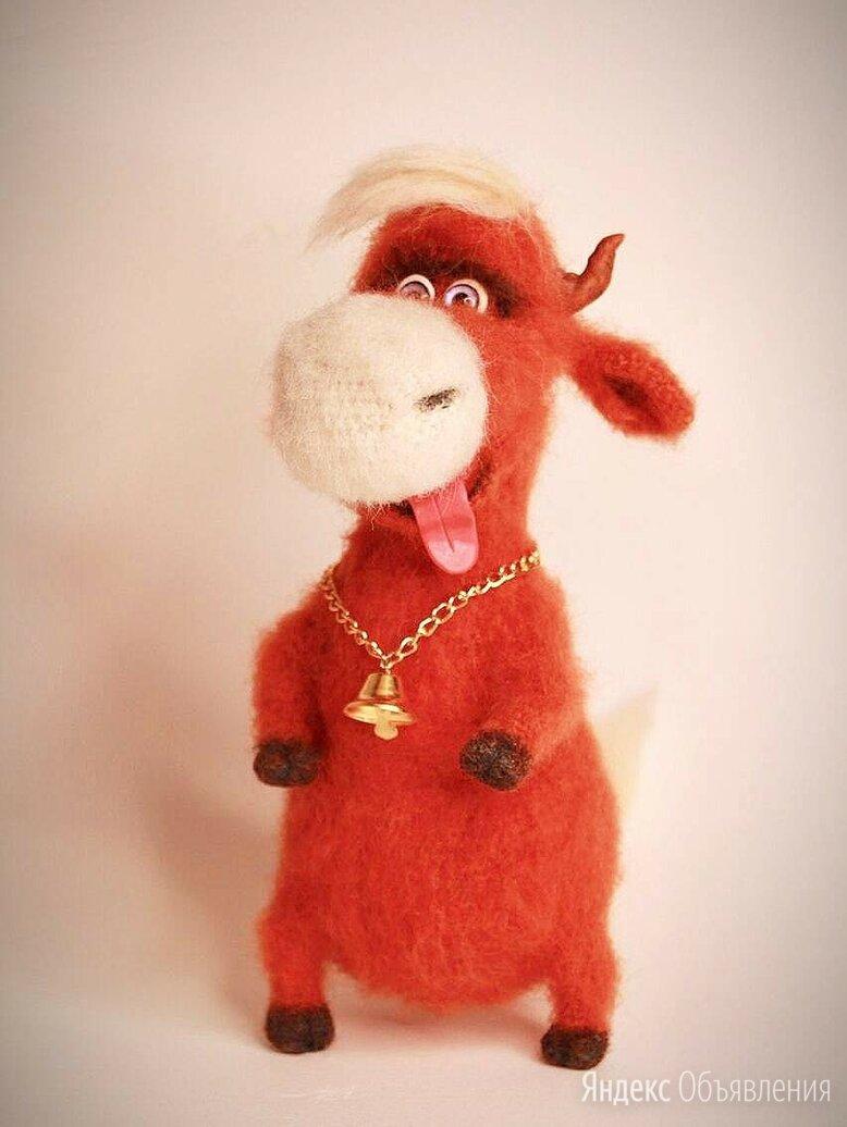 Интерьерная игрушка «Бык Валера» по цене 2950₽ - Новогодние фигурки и сувениры, фото 0
