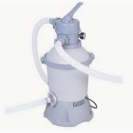 Прочие аксессуары - Песочный фильтр-насос 2006 л/ч, для бассейнов от 305 до 457 см, резервуар для пе, 0