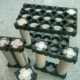 Батарейки - Держатель холдер на 3 Li-ion аккумулятора 18650, 0
