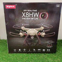 Квадрокоптеры - Квадрокоптер Syma X8HW с барометром и WiFi FPV камерой, 0