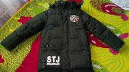Куртки и пуховики - Пуховик детский на мальчика от 8 до 10 лет, 0