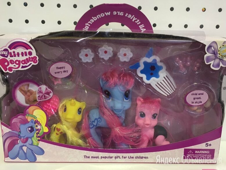 Май Литл Пони по цене 990₽ - Мягкие игрушки, фото 0