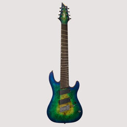 Электрогитары и бас-гитары - CORT KX508MS MBB ГИТАРА 8-СТРУННАЯ, 0