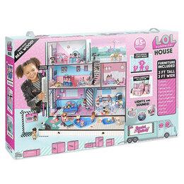 Куклы и пупсы - Домик для кукол ЛОЛ Оригинал LOL House, 0