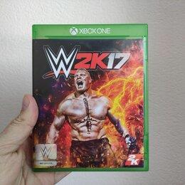Игры для приставок и ПК - Диск Xbox One WWE 2K17, 0