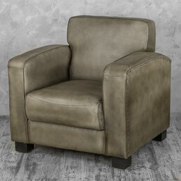 """Кресла - Кресло с мягкими подлокотниками темно-серое """"Норд"""", 0"""