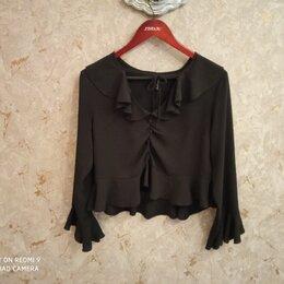 Блузки и кофточки -  Блузка блуза черная 40-42 Amisu, 0