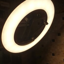 Осветительное оборудование - Кольцевая Лампа 45см (ZBR18), 0