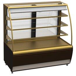 Холодильные витрины - Витрина кондитерская Полюс ВХСв-0,9д Carboma…, 0