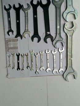 Рожковые, накидные, комбинированные ключи - Ключ гаечный рожковый 2-сторонний, 0
