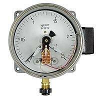 Промышленное климатическое оборудование - Манометр электроконтактный ЭКМ-1У 1,0kgf/см2 1,5 Gas, 0
