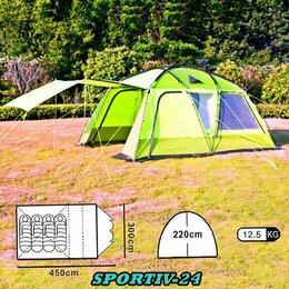 Палатки - 4-х местная ПАЛАТКА САЛАТОВАЯ дешево., 0