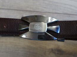 Ремни и пояса - Ремень кожаный Cerruti на подростка, 0