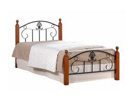 Кровати - Кровать с металлическим основанием РУМБА (AT-203), 0