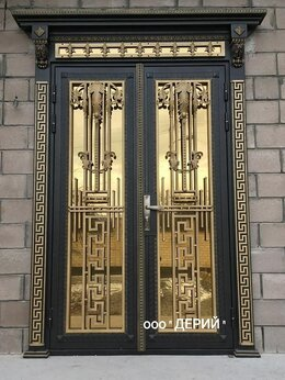 Входные двери - Дверь кованая , 0