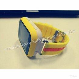 Умные часы и браслеты - Детские часы Smart Baby Watch GW200S желтые, 0