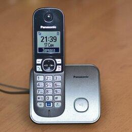 Радиотелефоны - Беспроводной DECT радиотелефон Panasonic KX-TG6811RU, 0