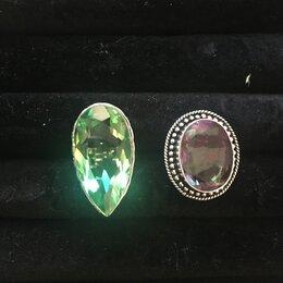 Кольца и перстни - Перстень с перидотом, турмалином, 0