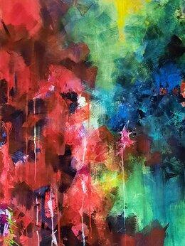 """Картины, постеры, гобелены, панно - Картина акрил. 50х70 см """"Сияние"""", 0"""