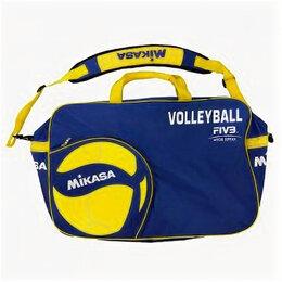 Дорожные и спортивные сумки - Сумка на 6 вол. мячей «MIKASA» арт. AC-BG260W-BL, 0