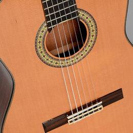 Акустические и классические гитары - Sigma CM-6NF классическая гитара, 0