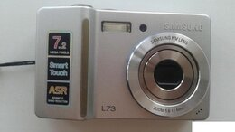 Фотоаппараты - фотоаппарат samsung l73, 0
