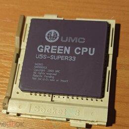 Процессоры (CPU) - Процессор UMC U5S-SUPER33. (аналог Intel 80486) , 0