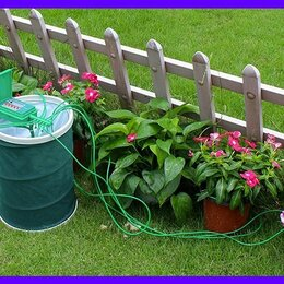 Капельный полив - Капельный автоматический полив домашних цветов Green Helper GA 010, 0