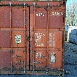 Торговля - Контейнеры морские 40 футов бу, 0