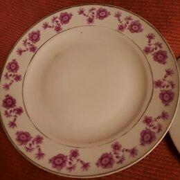 Посуда - Тарелки фарфор.Китай 2 штуки, 0