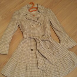 Куртки - Плащ на девочку, 0