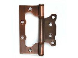 Петли дверные - Петля накладная Apecs 100х75х2,5-B2-Steel-AC, медь, 0