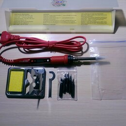 Электрические паяльники - Паяльник с жк дисплеем новый, 0