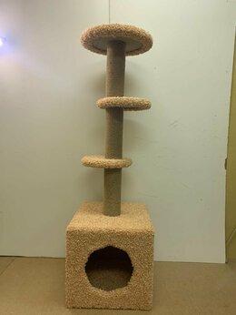 Когтеточки и комплексы  - Игровой комплекс для кошек (персиковый уют) , 0