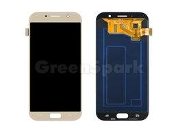 Дисплеи и тачскрины - Дисплей для Samsung A720F Galaxy A7 (2017) +…, 0