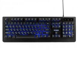 Клавиатуры - Клавиатура игровая Гарнизон GK-310G металл USB, 0