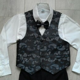 Комплекты и форма - Нарядный костюм для мальчика 5-6 лет, 0
