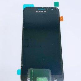 Дисплеи и тачскрины - Дисплей Samsung J200 Galaxy J2 модуль чёрный Black GH97-17940C Оригинал, 0
