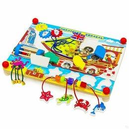 """Развивающие игрушки - Бизиборд """"Пиратский корабль"""", 0"""