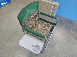 Походная мебель - Складное кресло туристическое с полкой, 0