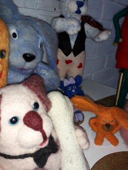 Мягкие игрушки - Валяные игрушки, 0